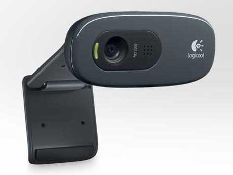 HD Webcam C270 [グレー&ブラック] の製品画像