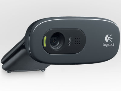 『本体 正面3』 HD Webcam C270 [グレー&ブラック] の製品画像