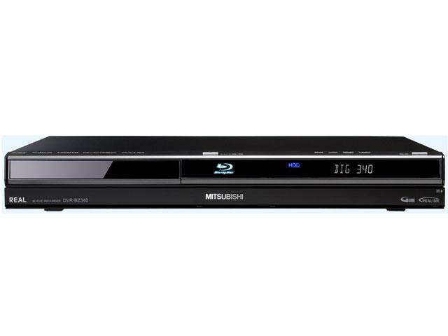 REAL ブルーレイ DVR-BZ340 の製品画像