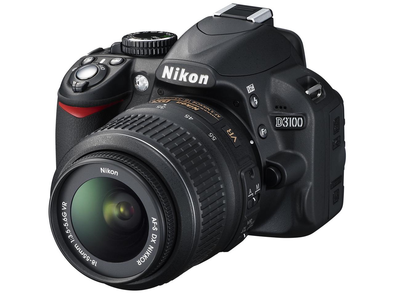 『本体 正面2』 D3100 レンズキット の製品画像