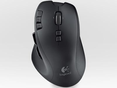 『本体1』 Logicool Wireless Mouse G700 [ブラック] の製品画像