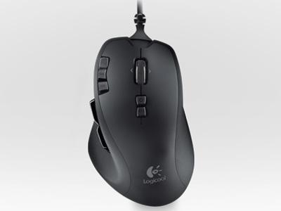 『本体3』 Logicool Wireless Mouse G700 [ブラック] の製品画像
