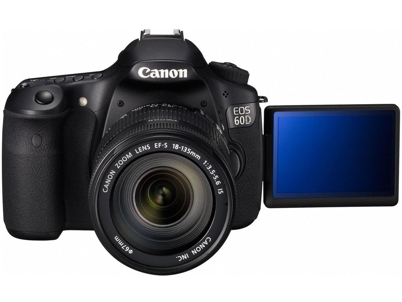 『本体 正面2』 EOS 60D EF-S18-135 IS レンズキット の製品画像