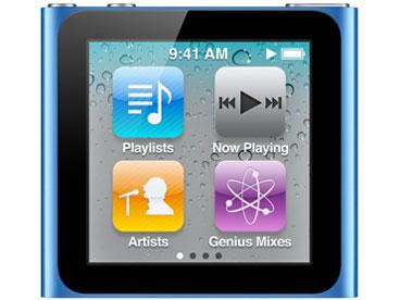 iPod nano MC695J/A [16GB ブルー] の製品画像