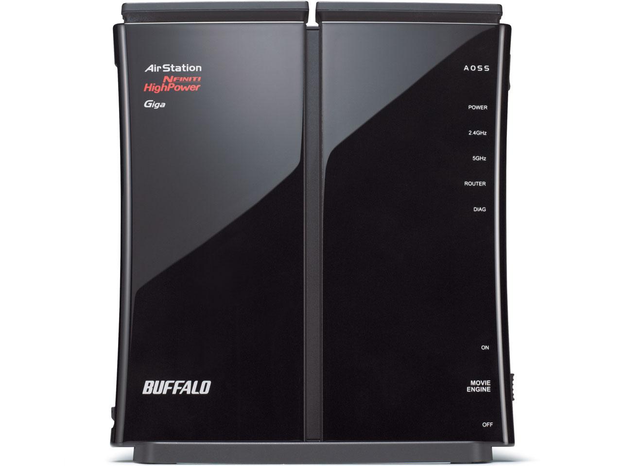 『本体 正面1』 AirStation NFINITI HighPower Giga WZR-HP-AG300H/EV の製品画像
