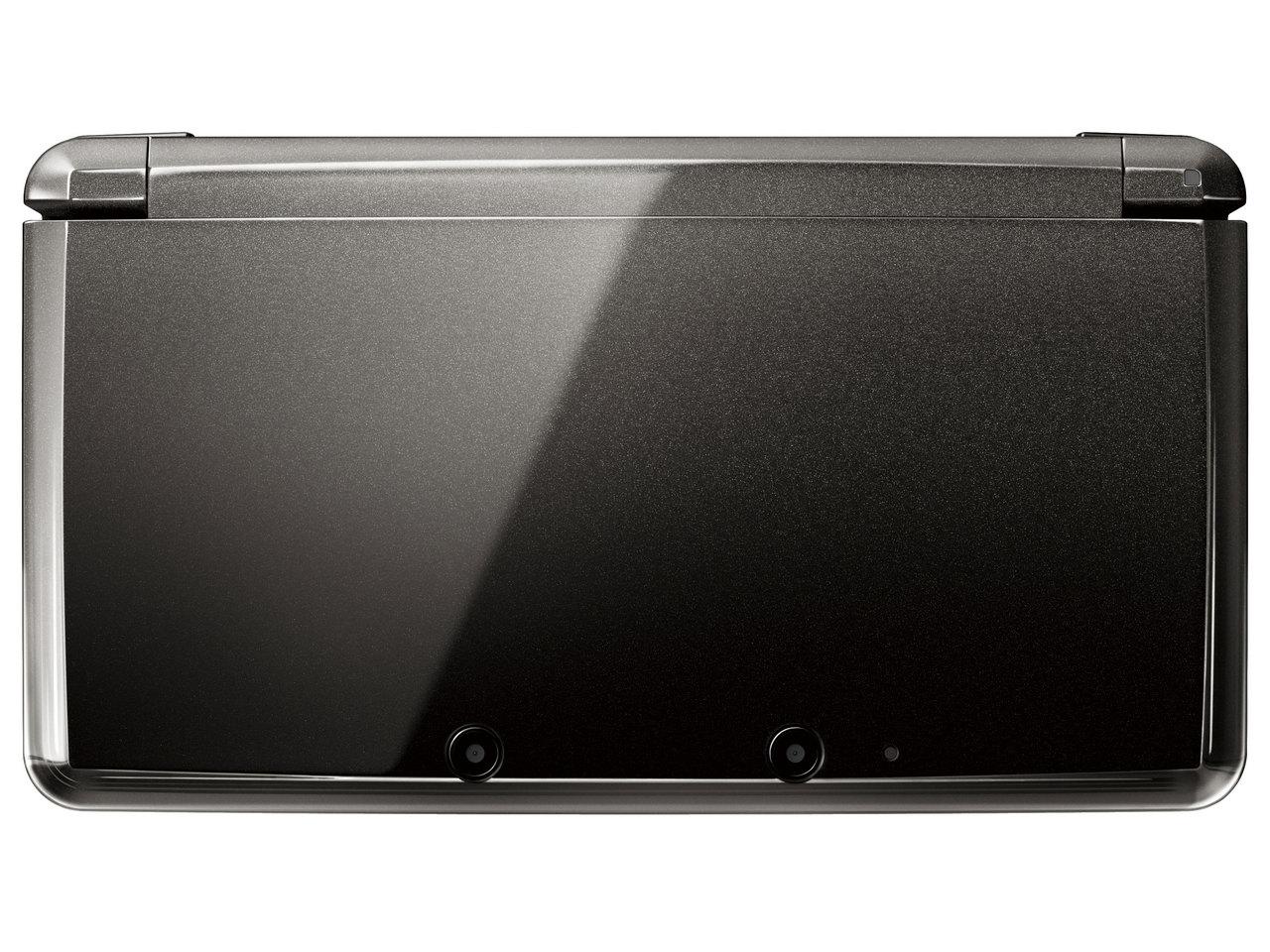 『本体 正面』 ニンテンドー3DS コスモブラック の製品画像