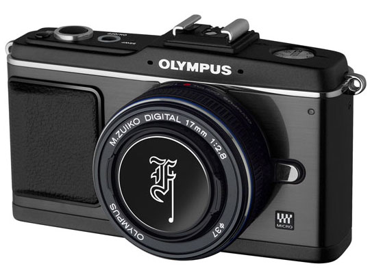 オリンパス・ペン E-P2 プレミアムキット [ブラック] の製品画像