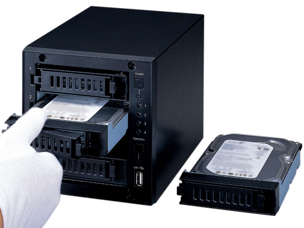 『使用イメージ』 LinkStation LS-QV2.0TL/1D の製品画像
