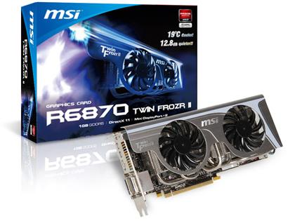 R6870 Twin Frozr II [PCIExp 1GB] の製品画像