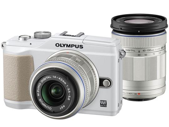 OLYMPUS PEN Lite E-PL2 ダブルズームキット [ホワイト] の製品画像
