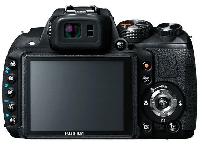 『本体 背面』 FinePix HS20EXR の製品画像