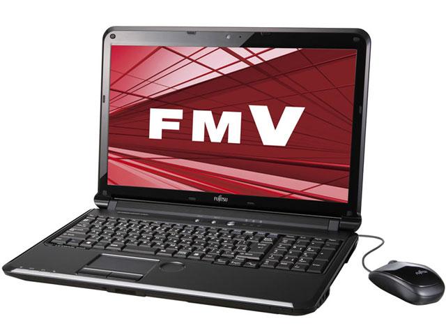 FMV LIFEBOOK AH54/D FMVA54DB [シャイニーブラック] の製品画像