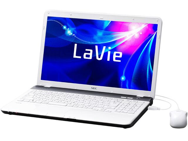 LaVie S LS550/ES6W PC-LS550ES6W [エクストラホワイト] の製品画像
