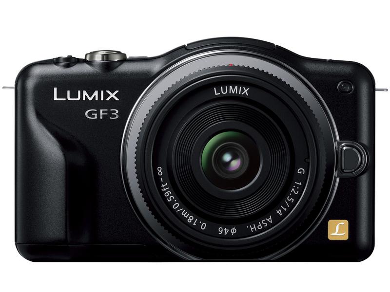 『本体 正面1』 LUMIX DMC-GF3W-K ダブルレンズキット [エスプリブラック] の製品画像