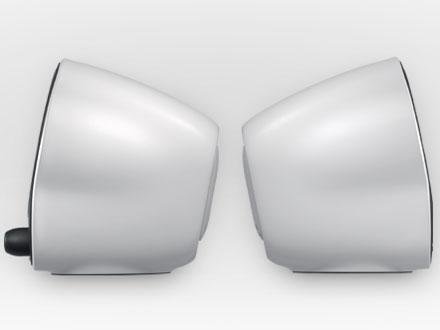 『本体 側面』 Stereo Speakers Z120 Z120BW [ブラック&ホワイト] の製品画像