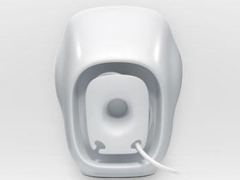 『本体 背面』 Stereo Speakers Z120 Z120BW [ブラック&ホワイト] の製品画像