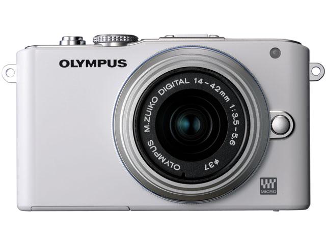 OLYMPUS PEN Lite E-PL3 ボディ [ホワイト] の製品画像