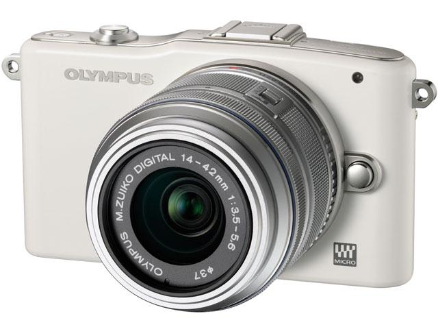 OLYMPUS PEN mini E-PM1 ボディ [ホワイト] の製品画像