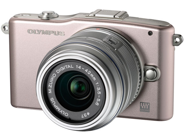 OLYMPUS PEN mini E-PM1 ボディ [ピンク] の製品画像