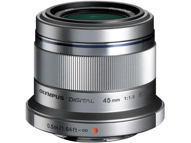 M.ZUIKO DIGITAL 45mm F1.8 [シルバー] の製品画像
