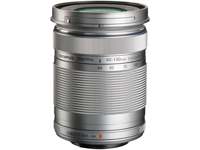 M.ZUIKO DIGITAL ED 40-150mm F4.0-5.6 R [シルバー] の製品画像