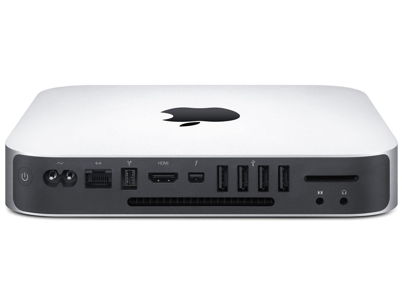 『本体 上面』 Mac mini 500GB MC815J/A [2300] の製品画像