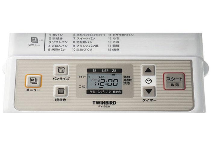 『操作パネル』 PY-E631W [ホワイト] の製品画像