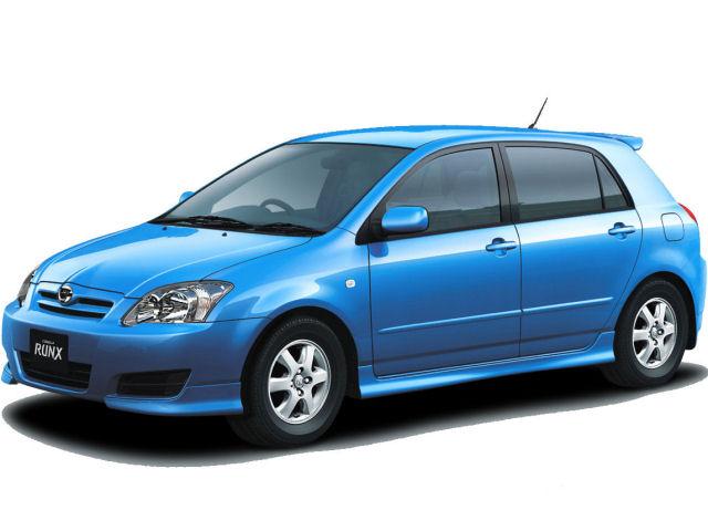 トヨタ カローラランクス 2001年モデル 新車画像