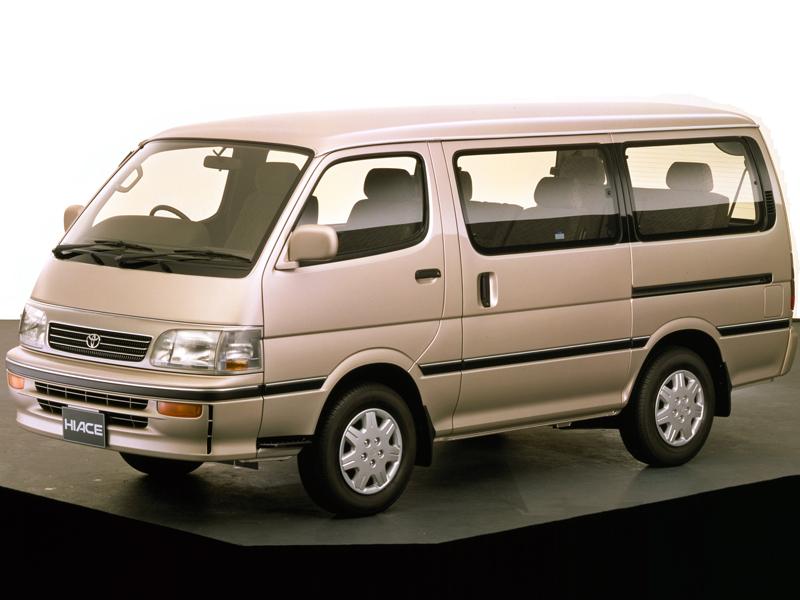 トヨタ ハイエースワゴン 1989年モデル 新車画像