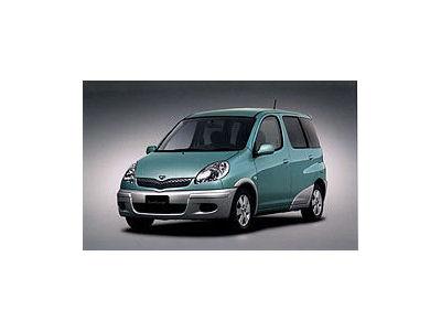トヨタ ファンカーゴ 1999年モデル 新車画像