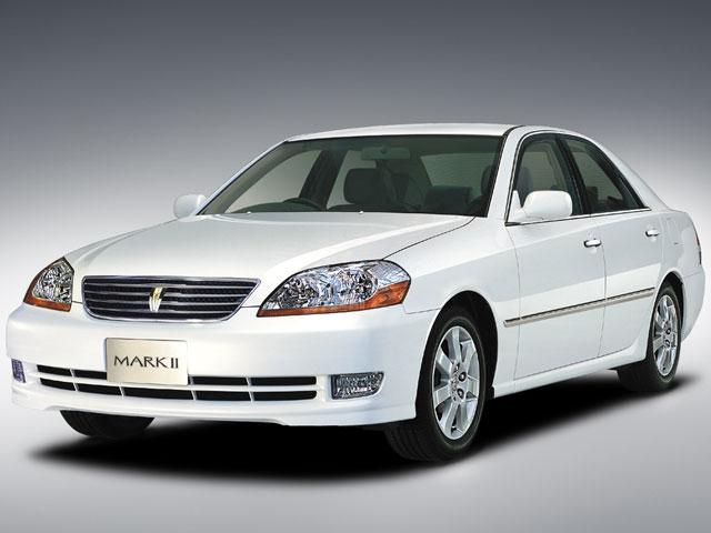 トヨタ マークII 2000年モデル 新車画像