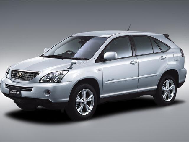 トヨタ ハリアー ハイブリッド 2005年モデル 新車画像