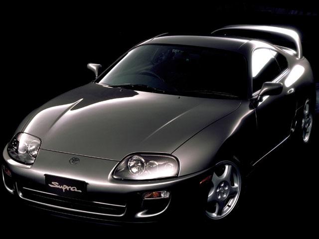 トヨタ スープラ 1993年モデル 新車画像