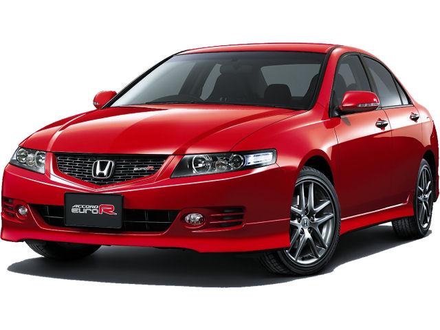 ホンダ アコード ユーロR 2002年モデル 新車画像