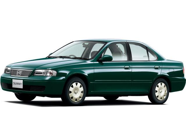 日産 サニー 1998年モデル 新車画像