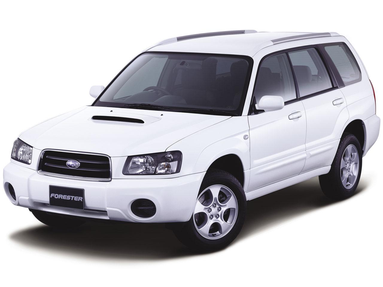 スバル フォレスター 2002年モデル 新車画像