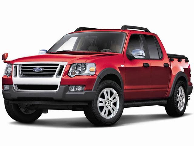 フォード エクスプローラー スポーツトラック 2007年モデル 新車画像