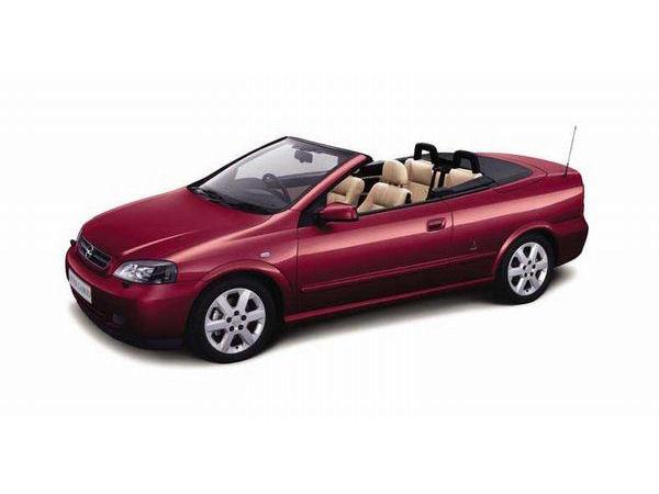 オペル アストラ カブリオ 2002年モデル 新車画像