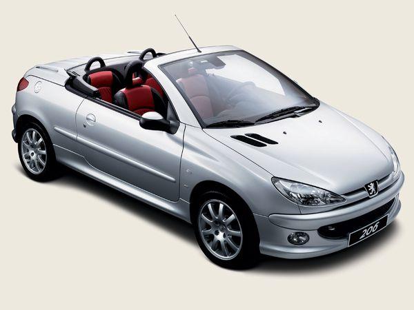 プジョー 206CC 2001年モデル 新車画像