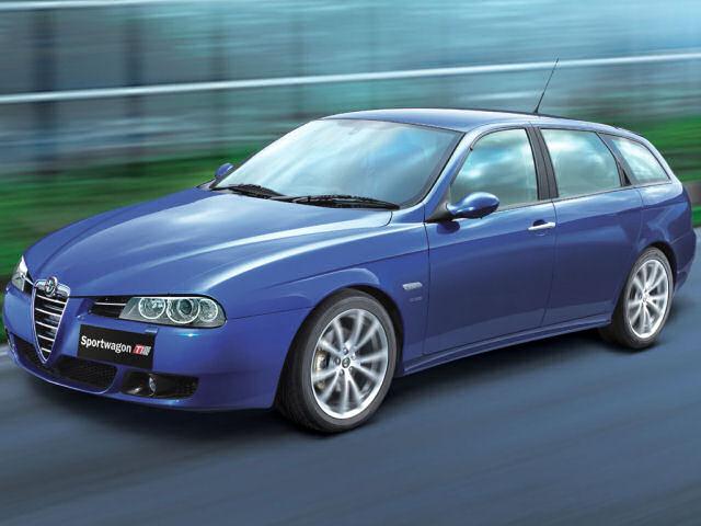 アルファロメオ 156 Sportwagon 2000年モデル 新車画像
