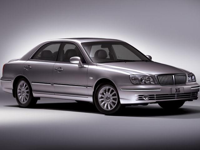 ヒュンダイ XG 2001年モデル 新車画像