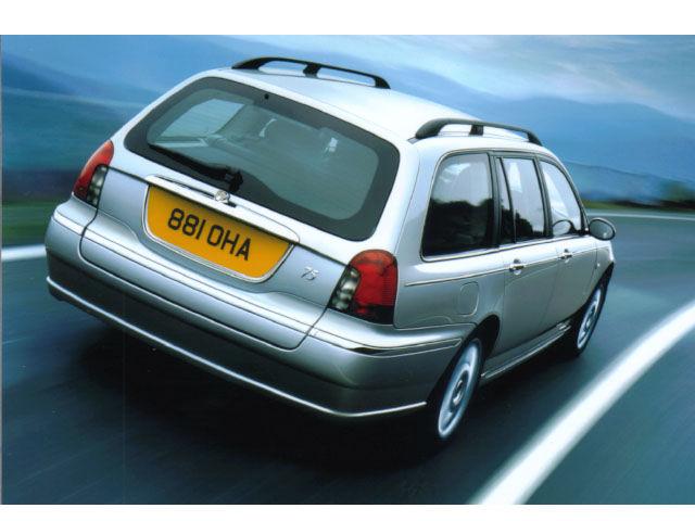 ローバー 75 ツアラー 2003年モデル 新車画像