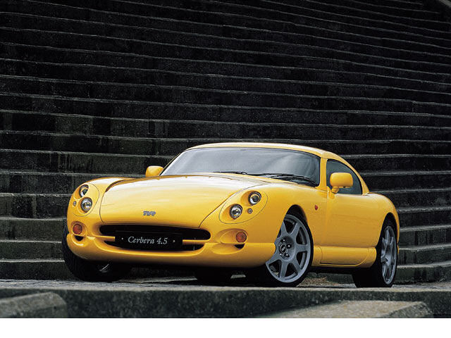TVR サーブラウ 1997年モデル 新車画像
