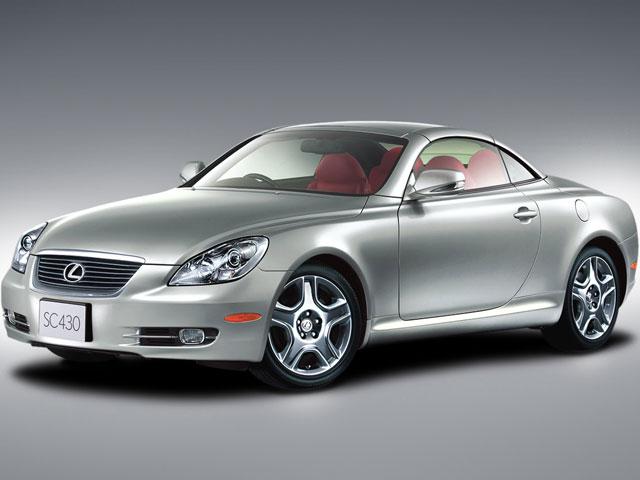レクサス SC 2005年モデル 新車画像