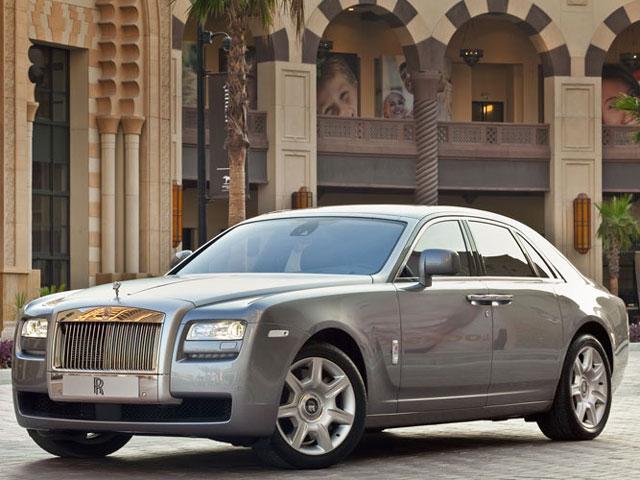 ロールス・ロイス ゴースト 2009年モデル 新車画像