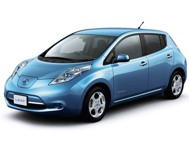 日産 リーフ 2010年モデル 新車画像