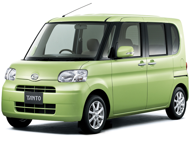 ダイハツ タント 2007年モデル 新車画像