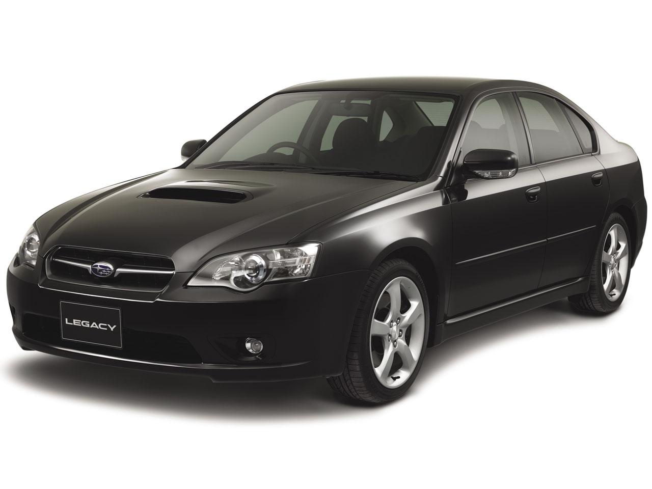 スバル レガシィ B4 2003年モデル 新車画像