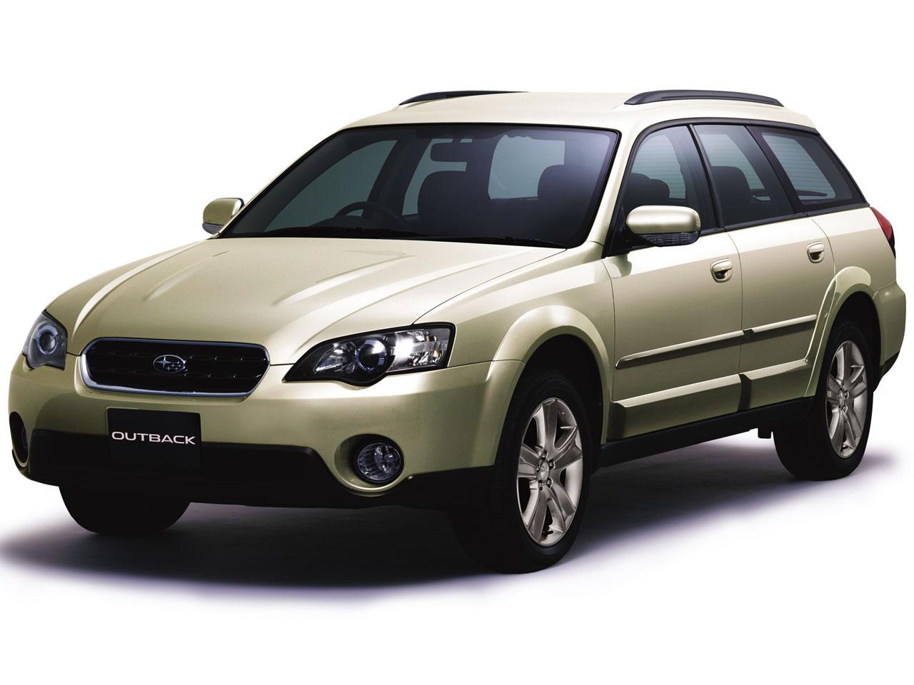 スバル レガシィ アウトバック 2003年モデル 新車画像