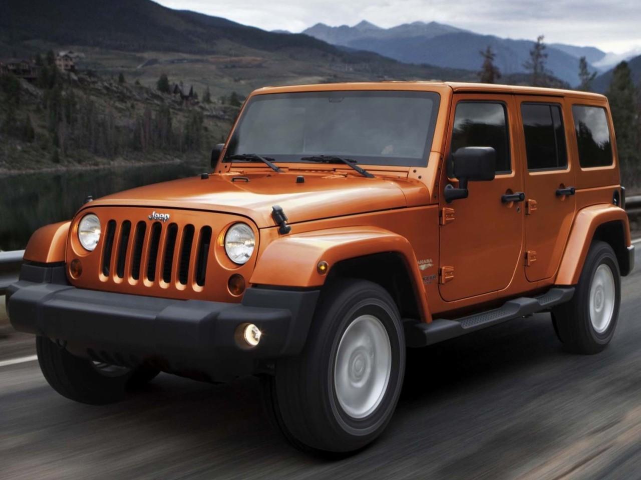 ジープ ラングラー 2007年モデル 新車画像